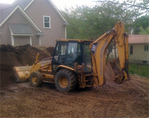 Photo Of Construction Site Work In Lexington, MA - Ferrante Construction Corp